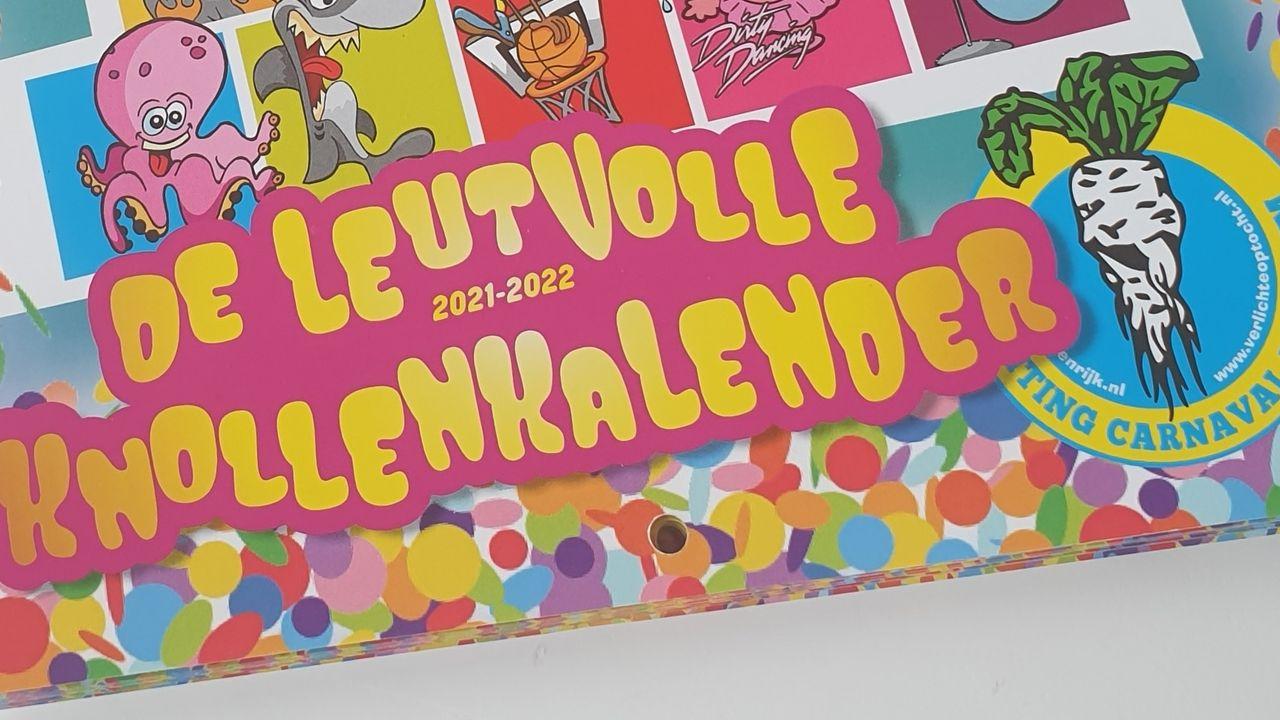 Stichting Carnaval Berghem telt met 'Leutvolle Knollen Kalender' af naar carnaval 2022