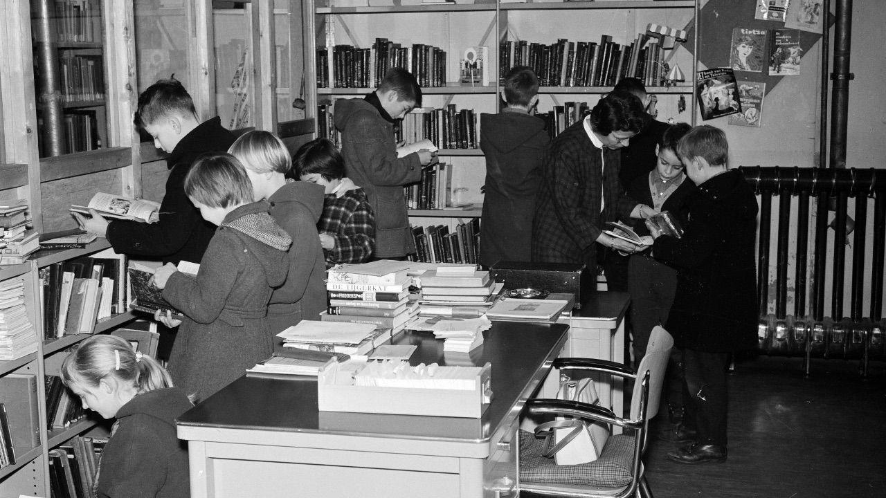Bibliotheek Oss viert het 100-jarig bestaan