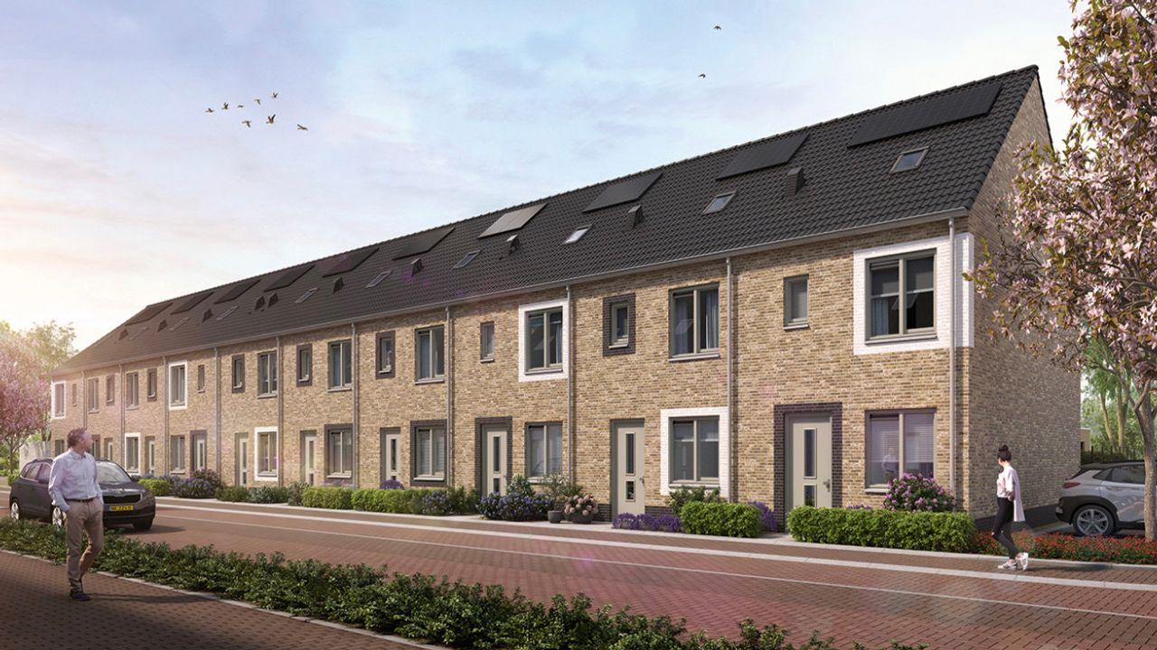 Nieuwe woningen 'om de hoek' bij Kromstraat Oss in de verkoop