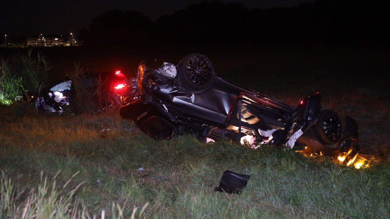 Ravage na verkeersongeval in Veghel, één bestuurder onder invloed