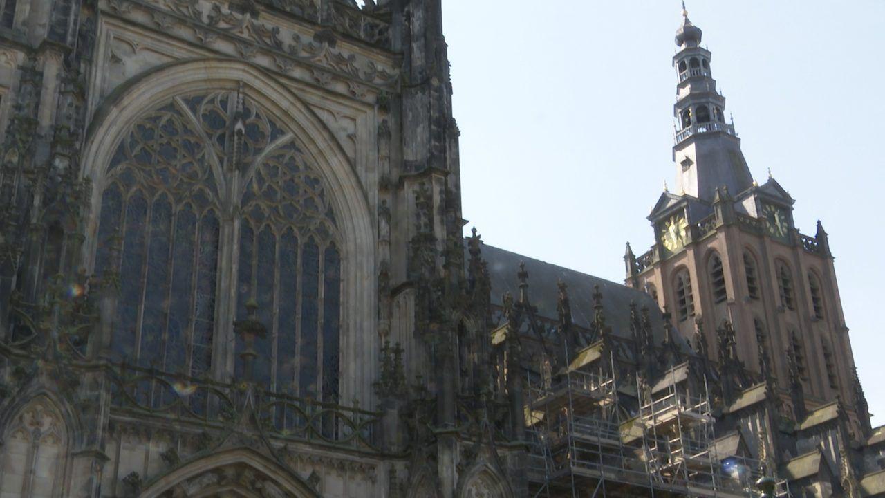Toren Sint-Jan vanaf 19 oktober in de steigers