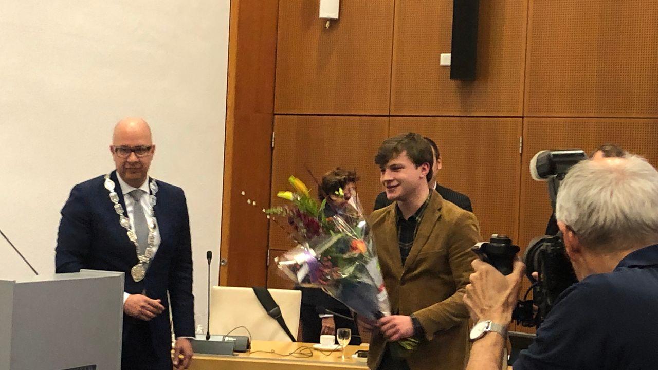 22-jarige Bram Roovers nieuwe fractievoorzitter van SP Den Bosch