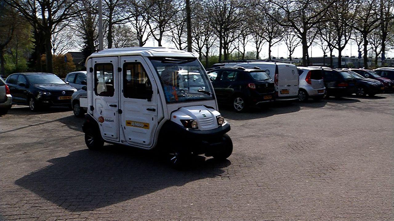 Ruwaard-Mobiel tijdelijk te bewonderen bij Wijkcentrum De Haard