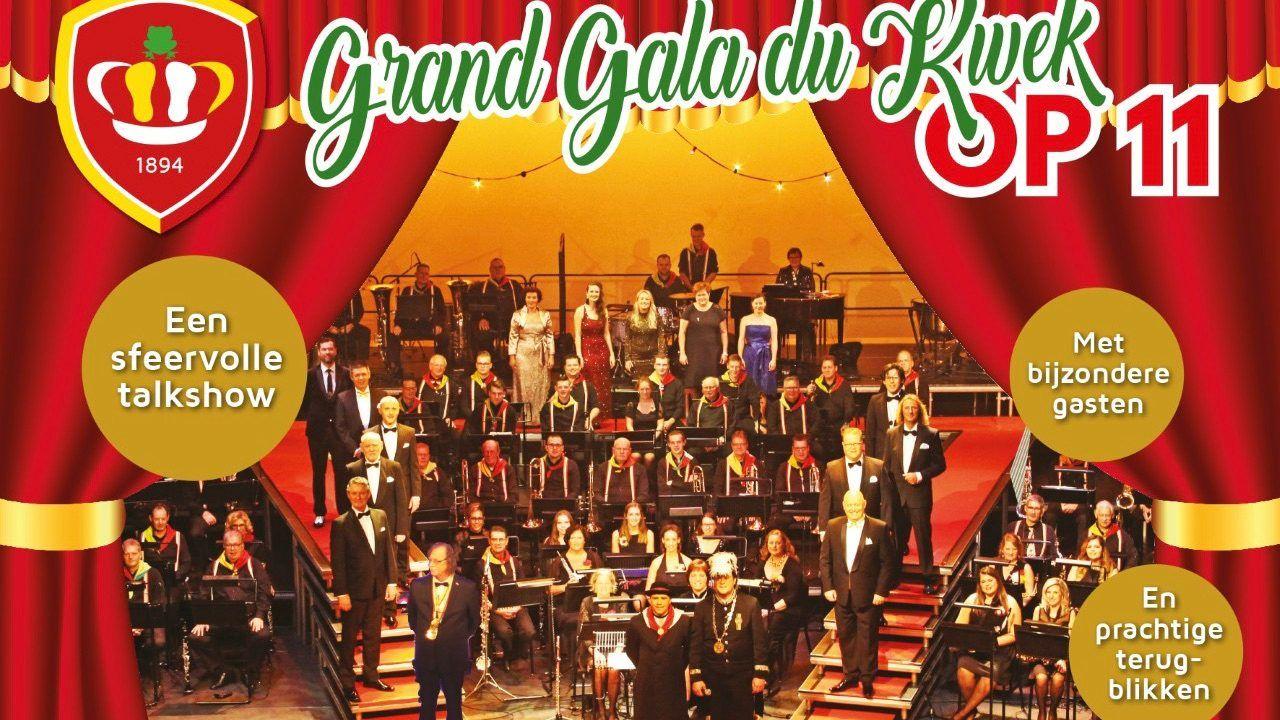 Lovende reacties op Grand Gala du Kwek OP11: 'Toch nog een beetje carnavalsgevoel'
