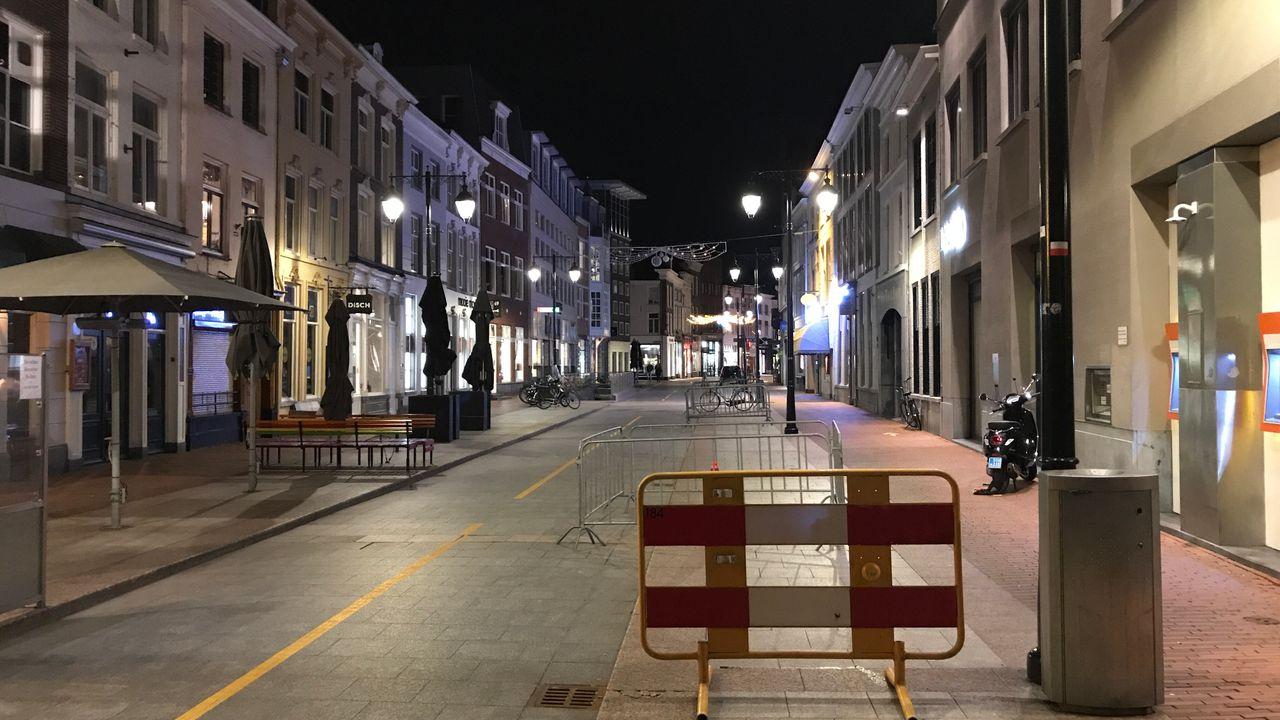 Eerste avond met avondklok volgens politie rustig verlopen