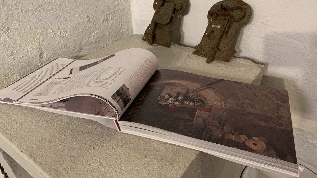 Ondergrondse praktijken in Ravenstein: een fotoboek over de ruim honderd kelders in het vestingstadje