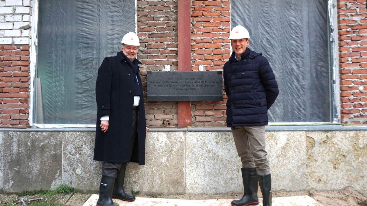 Eerste steen voor herontwikkeling Jamfabriek Den Bosch