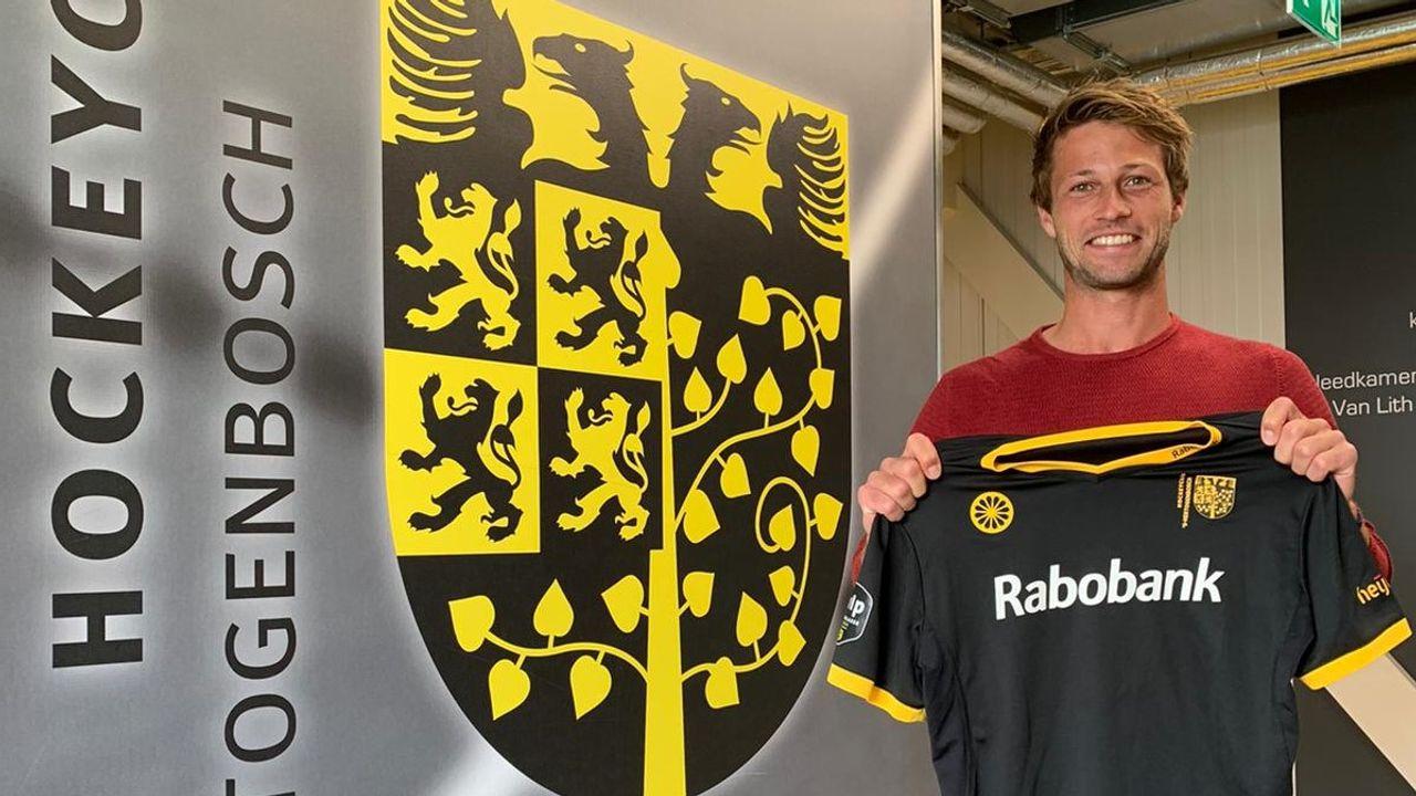 Duits international Kaufmann tekent bij HC Den Bosch