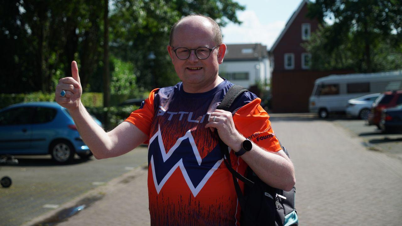 1300 km lopen in vijftig dagen: Veghelaar Ronald van Venrooij traint voor 'twaalfstedentocht'