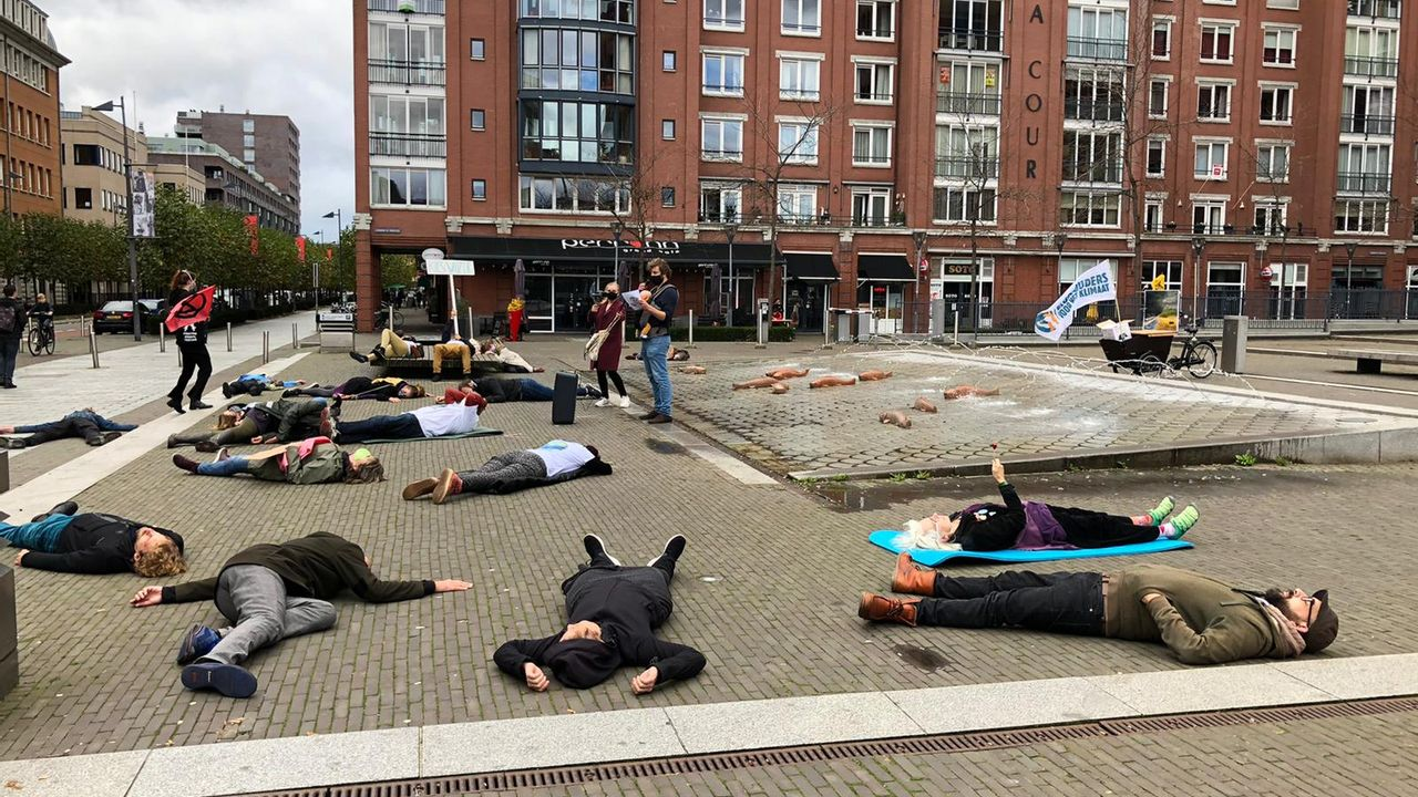 Klimaatdemonstratie in Den Bosch: 'Dit is geen oefening'