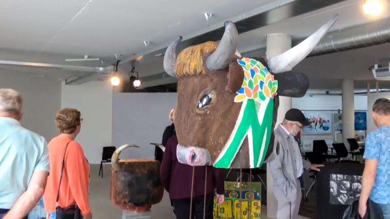 Uden en Landerd nu al verbonden dankzij kunstwerk voor gemeente Maashorst