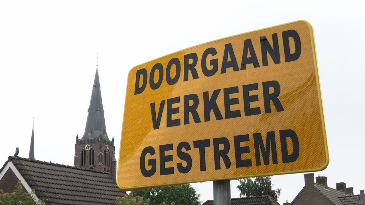 Twee weken geen autoverkeer tussen Berghem en Koolwijk