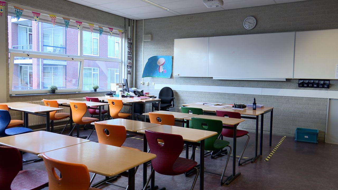 Udens College gaat klaslokalen ieder uur luchten: lessen zijn korter