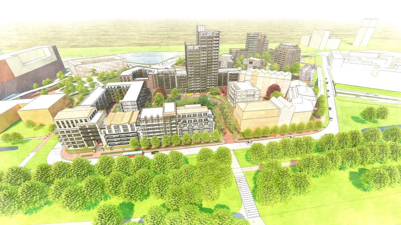Plannen voor 500 appartementen naast Jeroen Bosch Ziekenhuis