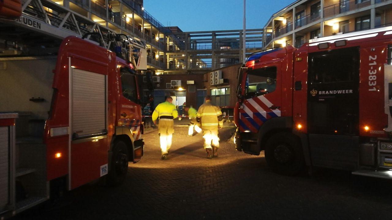 Kleine brand in restaurant centrum Uden