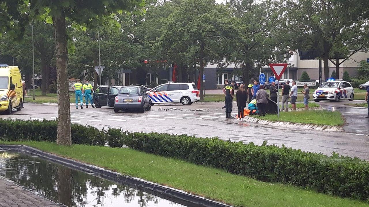 Vrouw gewond na auto-ongeluk in Oss