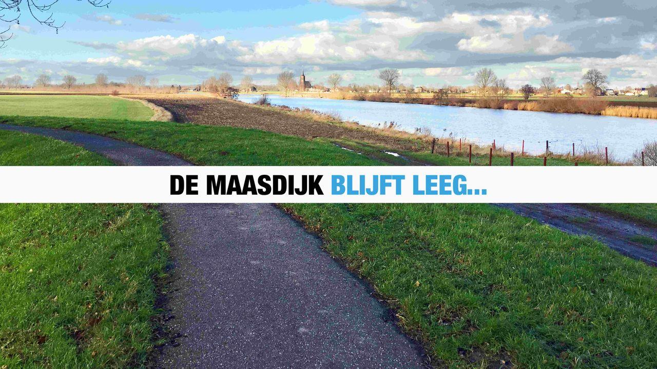PvdA Oss wil financiële steun voor de Maasdijk na afgelasting