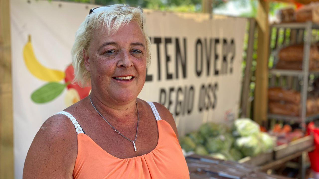 Angelique gaat zelf naar de voedselbank, maar deelt met Eten Over elke week eten uit