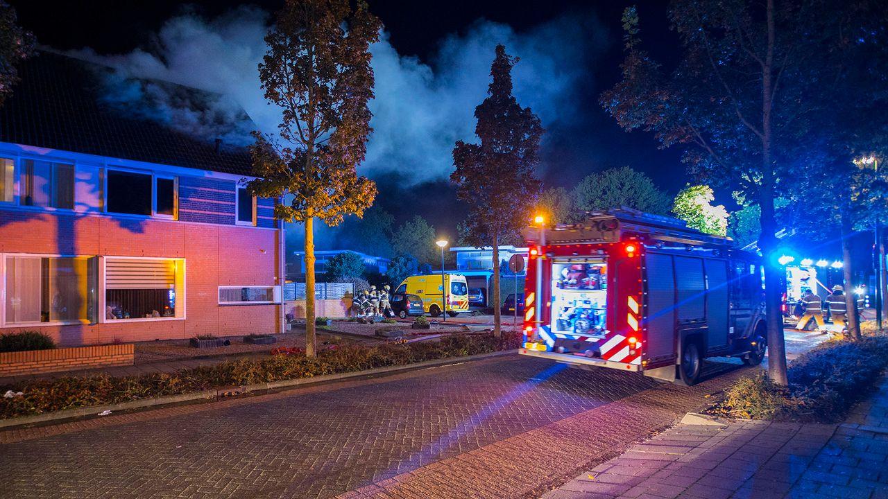 Vier personen gewond bij woningbrand in Schijndel