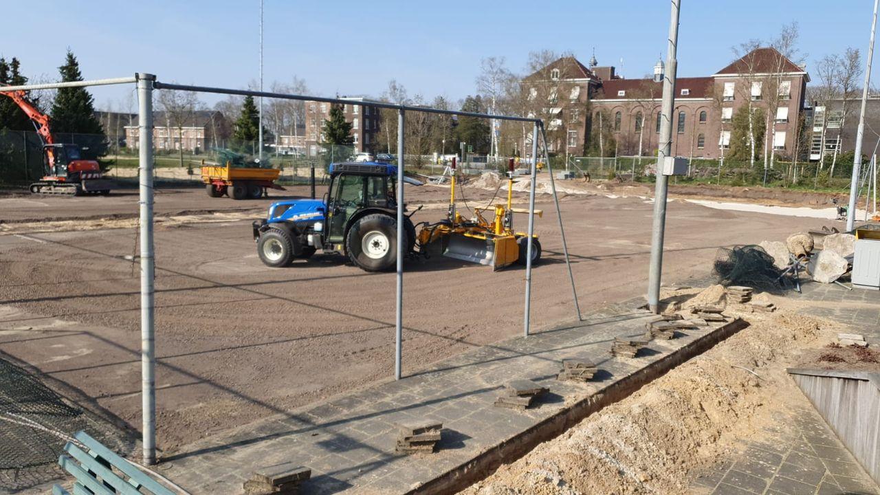 Tennisvereniging LTC begonnen met aanleg padelbanen