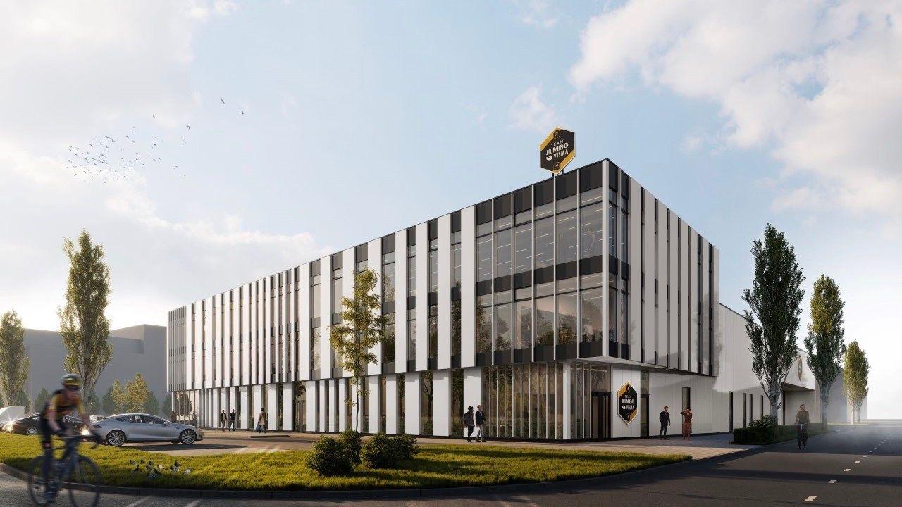 'Eerste steen' voor nieuw hoofdkantoor sportploeg Jumbo-Visma in Den Bosch
