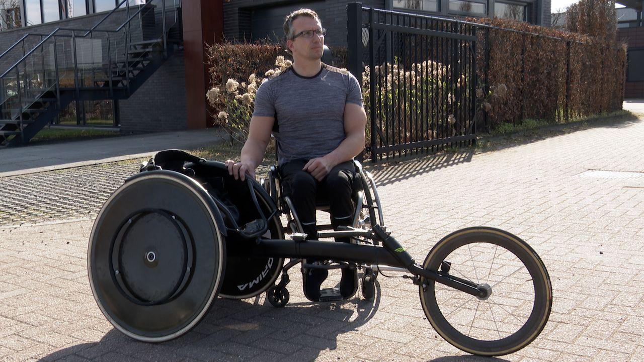 Paralympiër Kenny van Weeghel grijpt naast podiumplaats