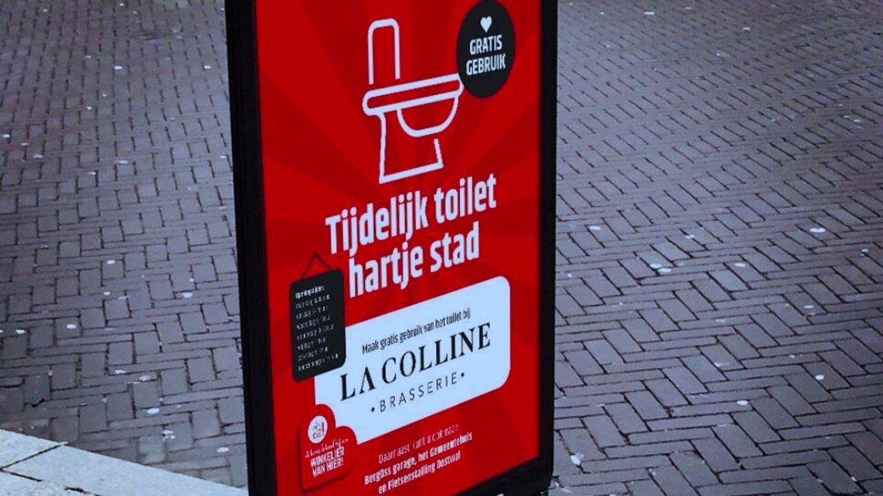 Centrum Oss krijgt extra openbaar toilet bij La Colline