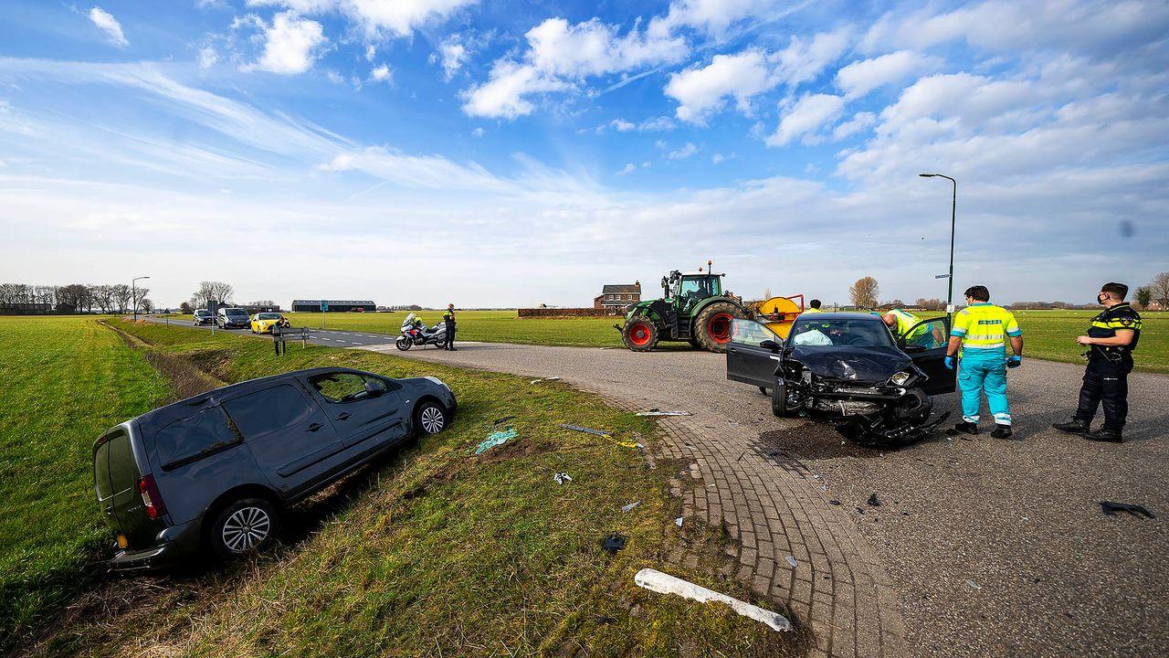 Opnieuw ongeluk op kruispunt Gewandeweg, automobilist gewond