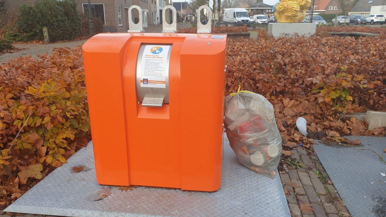 Afvalprobleem rond nieuwe perscontainer in Nuland