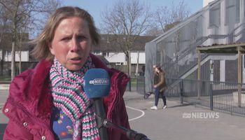 Bossche leerlingen naar buiten op nationale buitenlesdag