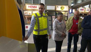 De gemeente houdt de sluiting van de servicebalie op het centraal station niet tegen.
