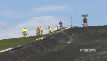 Politie gaat uit van brandstichting skibaan De Schans en zoekt getuigen